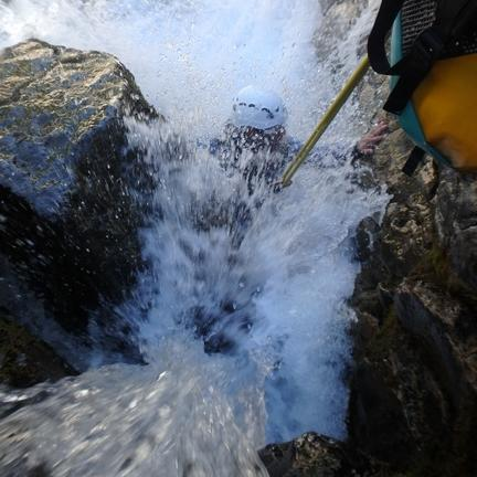 #hpc65 #sport #canyoning #splash