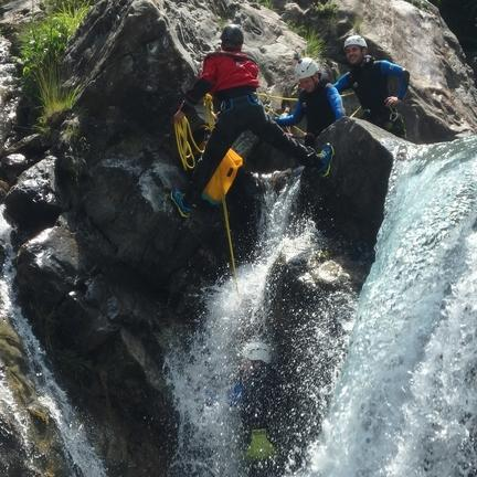 #hpc65 #sport #canyoning #rappel