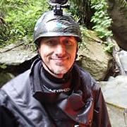 Lionel Aubriot, guide de canyoning